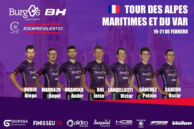 El Burgos BH participará en el Tour des Alpes Maritimes et du Var