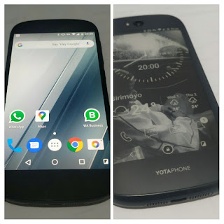 Layar YotaPhone 2