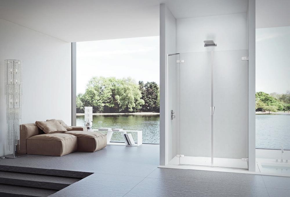 Scopri il particolare vetro per box doccia che limita la formazione del calcare