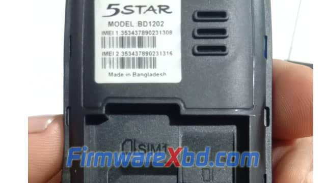 5Star BD1202 Flash File 6531E