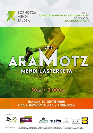 Aramotz Mendi Lasterketa 2018