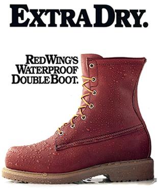 38e496829 Nos anos de 2000 os japoneses resolveram encomendar um modelo especial que  replicava o couro e os detalhes de uma tradicional bota RED WING da década  de ...