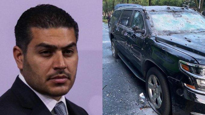 Omar García Harfuch recibió 3 impactos de bala, hay 3 Policías heridos, 1 escolta y 1 civil muertos tras el atentado esta mañana