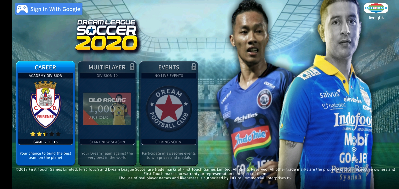 DLS 2019 MOD APK SHOPEE LIGA 1 INDONESIA FOR ANDROID