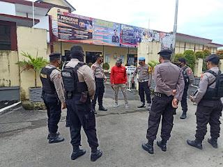 Sikapi Aksi Teror Makassar, Kasat Sabhara Polres Gowa Beri Penekanan