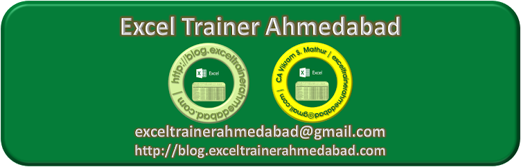 Excel Trainer Ahmedabad
