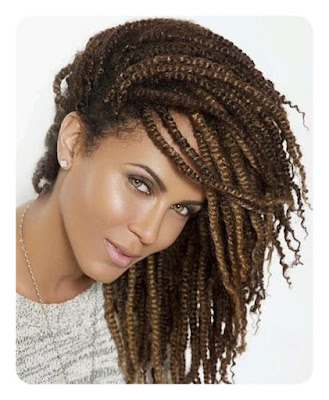 41+ Protective Kinky Crochet Hairstyles For Black Girls