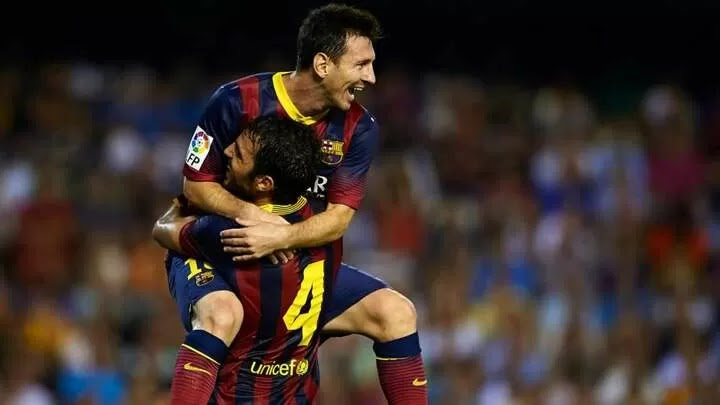 Fabregas recalls first Messi meeting in moving tribute