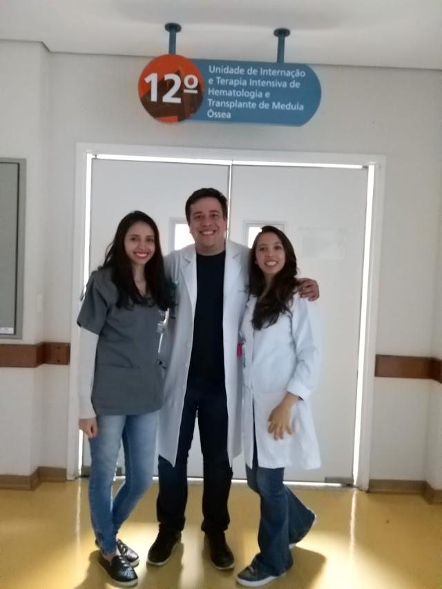 UniFSP recebe a visita de Rodolfo Lara, formado no curso de Fisioterapia em 2014