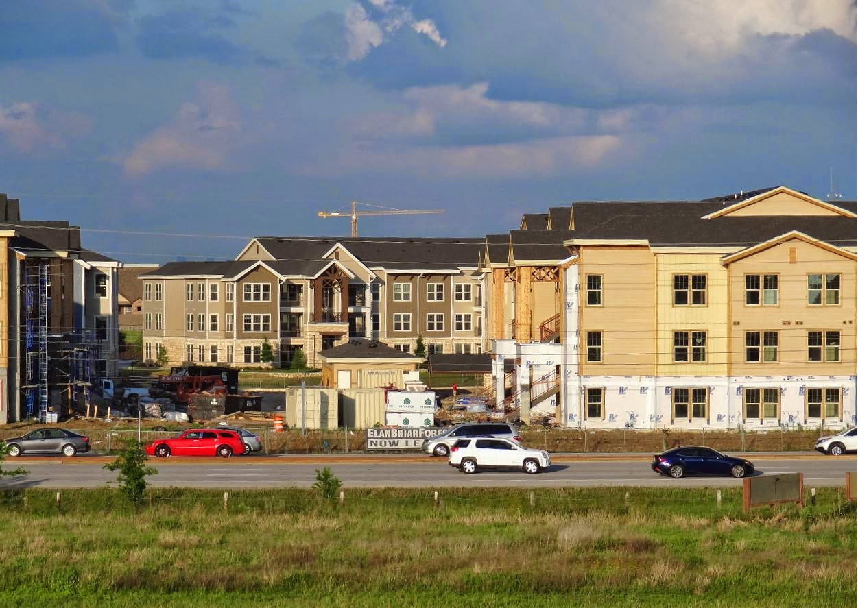 Elan Briar Forest New Apartment Development On Sh 6 Nearing Completion