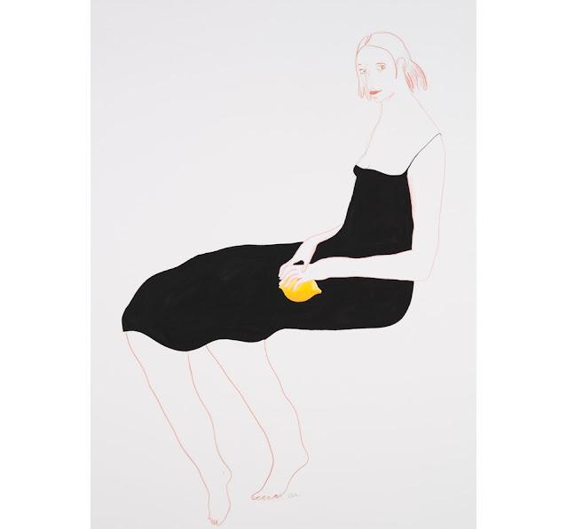 Ilustración realizada por la artista e ilustradora suiza Albertine