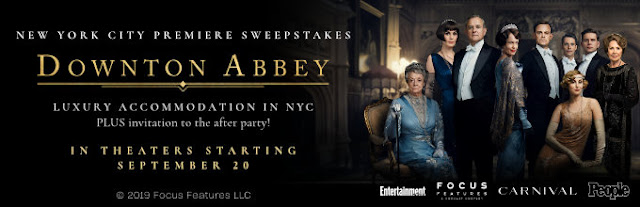 EW, PEOPLE and Focus Features are giving away a trip worth nearly $5000 to attend the New York City premiere of Downton Abbey!