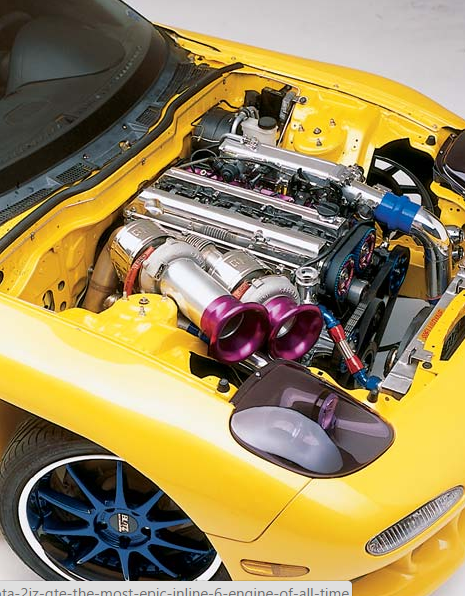 The Toyota 2JZ-GTE, the most epic inline 6 engine of all time