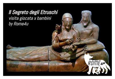 """Il segreto degli Etruschi - Visita """"giocata"""" per bambini e ragazzi al Museo Etrusco di Villa Giulia - Contingentata a numero chiuso (15 pax)"""