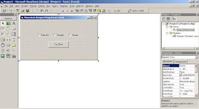 Mencetak Dengan Pengaturan Tata Letak Memakai Visual Basic 6.0
