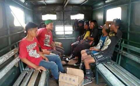 satpol pp indramayu amankan anak jalanan