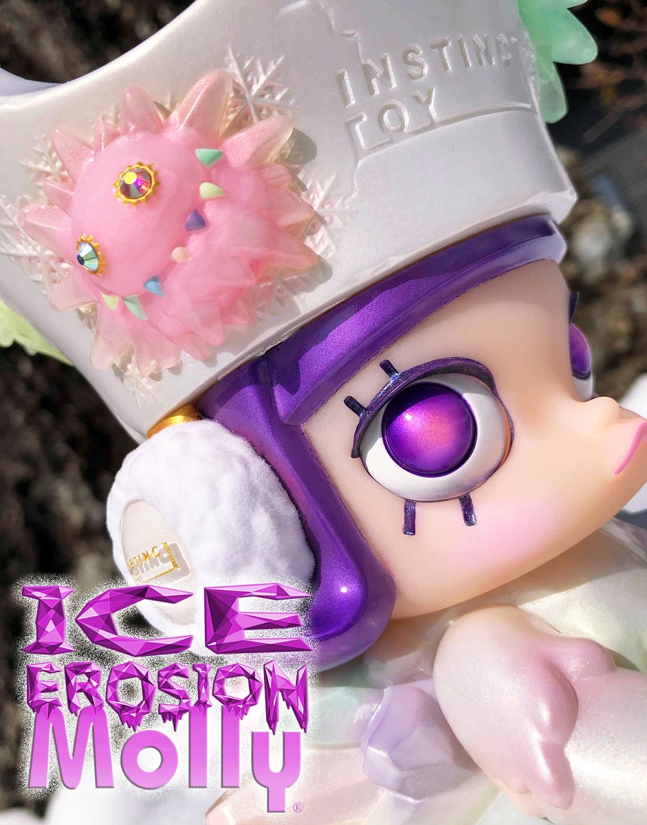 New ICE EROSION MOLLY from INSTINCTOY & Bootleg Mini Erosion