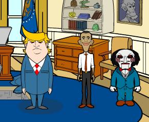 Obama y Pigsaw versus Aliens - Jugado y Resuelto!