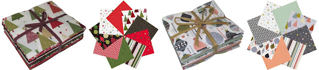 Modern christmas fabric from Makower