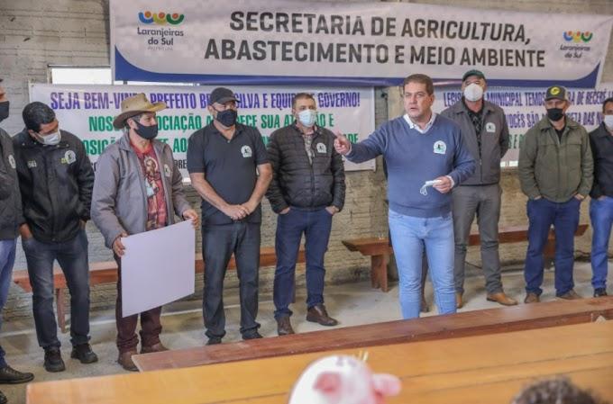 """Laranjeiras: Prefeitura leva o Programa """"Dinheiro na Comunidade"""" para a Invernada Grande"""