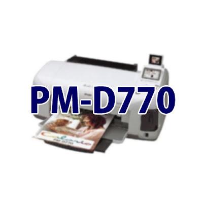 Epson Colorio PM-D770ドライバーダウンロード
