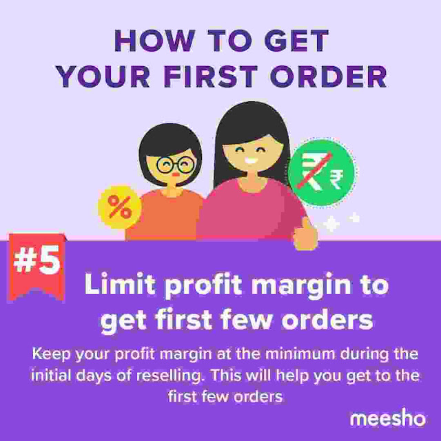 First Order on Meesho App