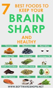 7 Best Foods to Keep Your Brain Sharp and Healthy