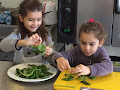 Kids learn to cook at Alfa Culinary and Beverage Academy in Nicosia