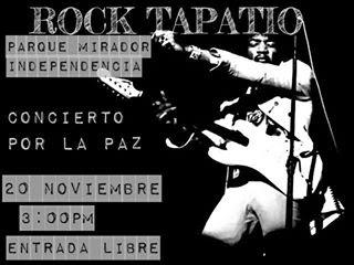 rock tapatío concierto por la paz