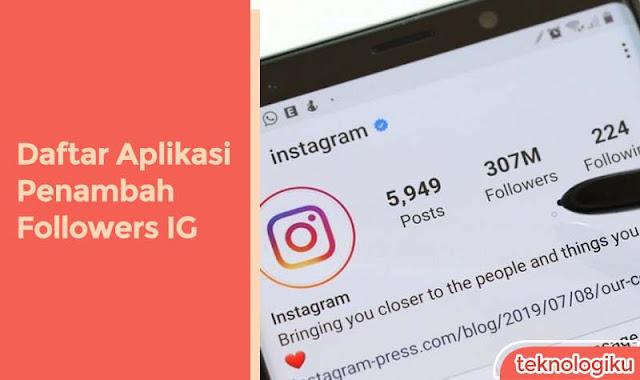 Aplikasi Penambah Followers Instagram Gratis