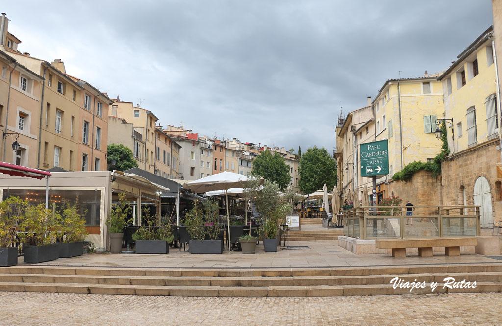 Plaza del Cardeus, Aix en Provence