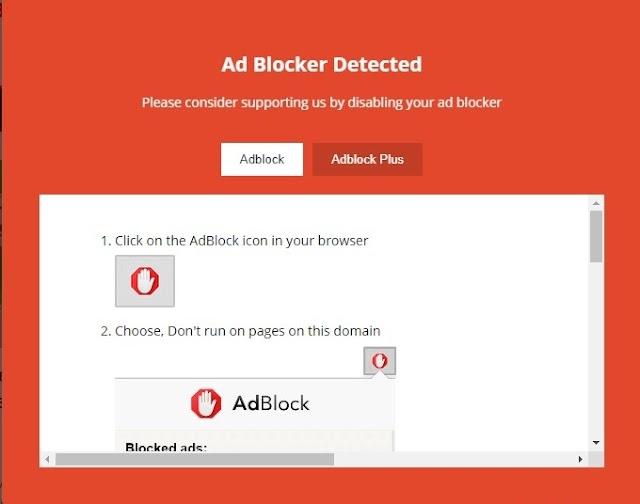 Anti AdBlock HTML Code For Blogger 2021