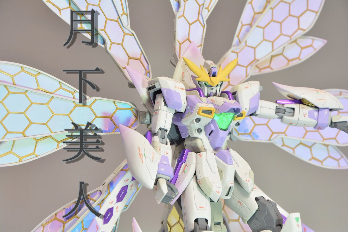 "Custom Build: MG 1/100 Gundam X ""Tsukishimi"" [GBWC 2018 Entry] - Gundam Kits Collection News and Reviews"