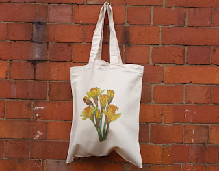 Daffodil bag by Alice Draws the Line
