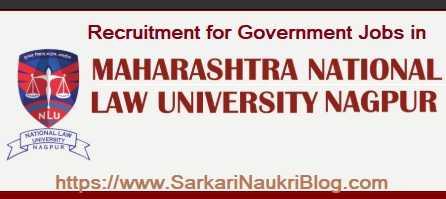 Job Vacancy MNLU Nagpur