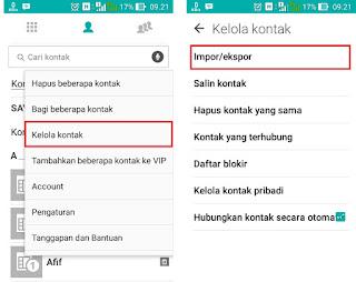 Cara Backup & Restore Nomor HP (Kontak) di Android