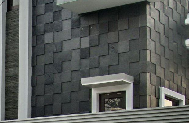 Hasil gambar untuk Black Volcanic Lavastone Tiles - Kinds Of Stone Tiles And Their Features