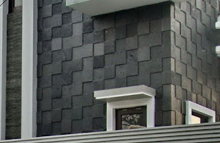 Black Lava Stone Tile , Stunning Bali Popular Stone for Property