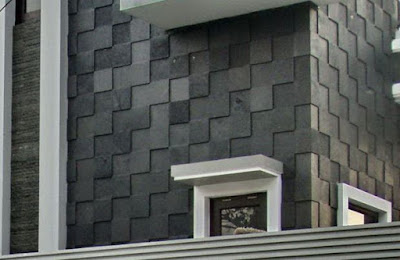 Black Lava Stone Tile , Stunning Bali Popular Stone for Property