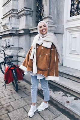 hijab-portée-par-femme-en-hiver-2019