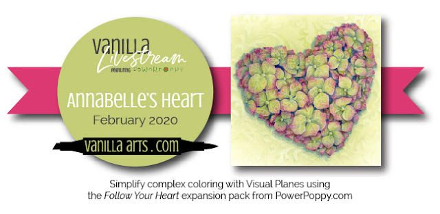 Want to improve your Copic Marker or colored pencil coloring? Power Poppy's guest author Amy Shulke from VanillaArts.com talks about the courage to color oversized artistic coloring projects with Copic Markers or colored pencil. | VanillaArts.com | #realistic #howtocolor #copic