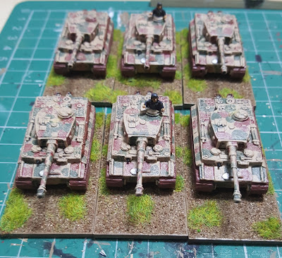 Painting World War II Germans