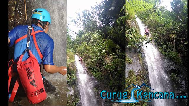 Waterfall Climbing Curug Putri Kencana