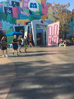 Mike and Sulley to the Rescue Entrance Disney California Adventure