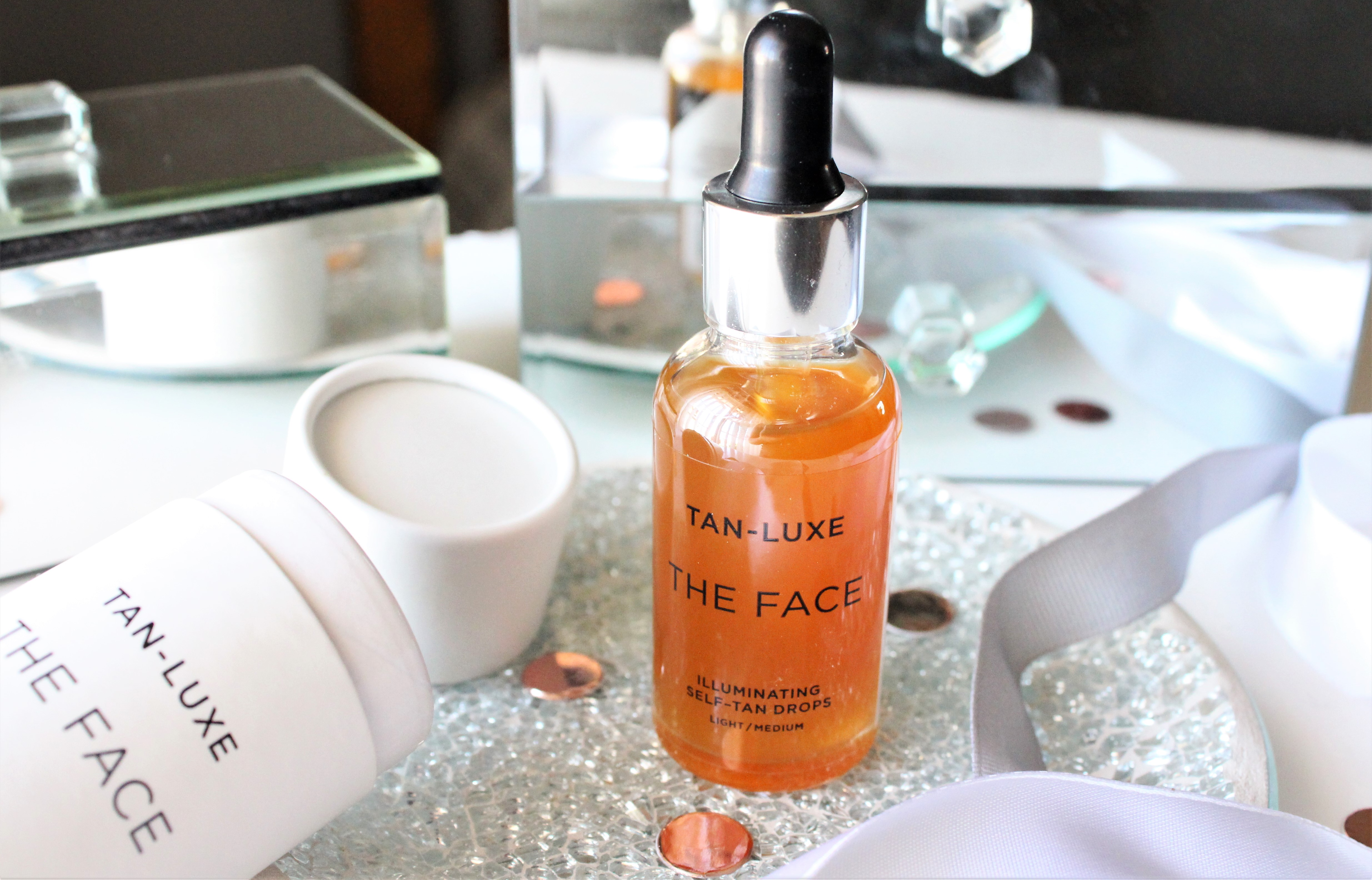 tan luxe face review