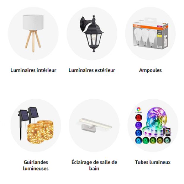 LUMINAIRES ET ECLAIRAGE : Amazon.fr - Achat en ligne dans un vaste choix sur la boutique Luminaires & Eclairage.