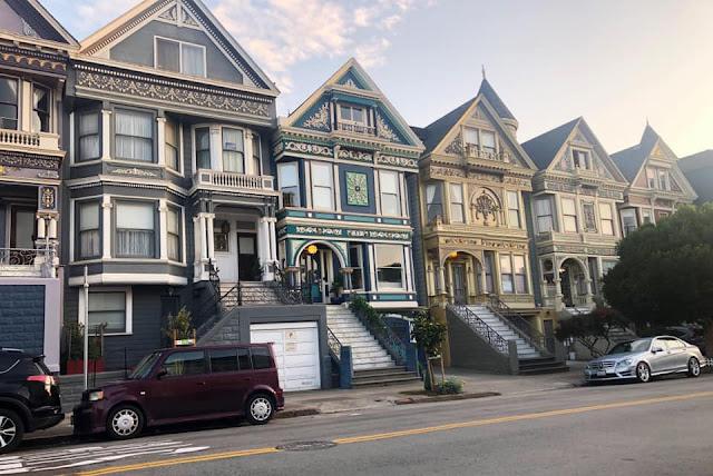 Retour à San Francisco