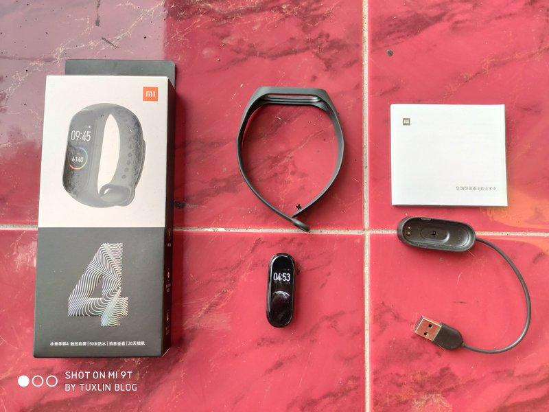 Paket Pembelian Xiaomi Mi Band 4