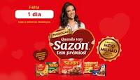 Promoção Quando tem Sazón tem prêmios promocaosazon.com.br