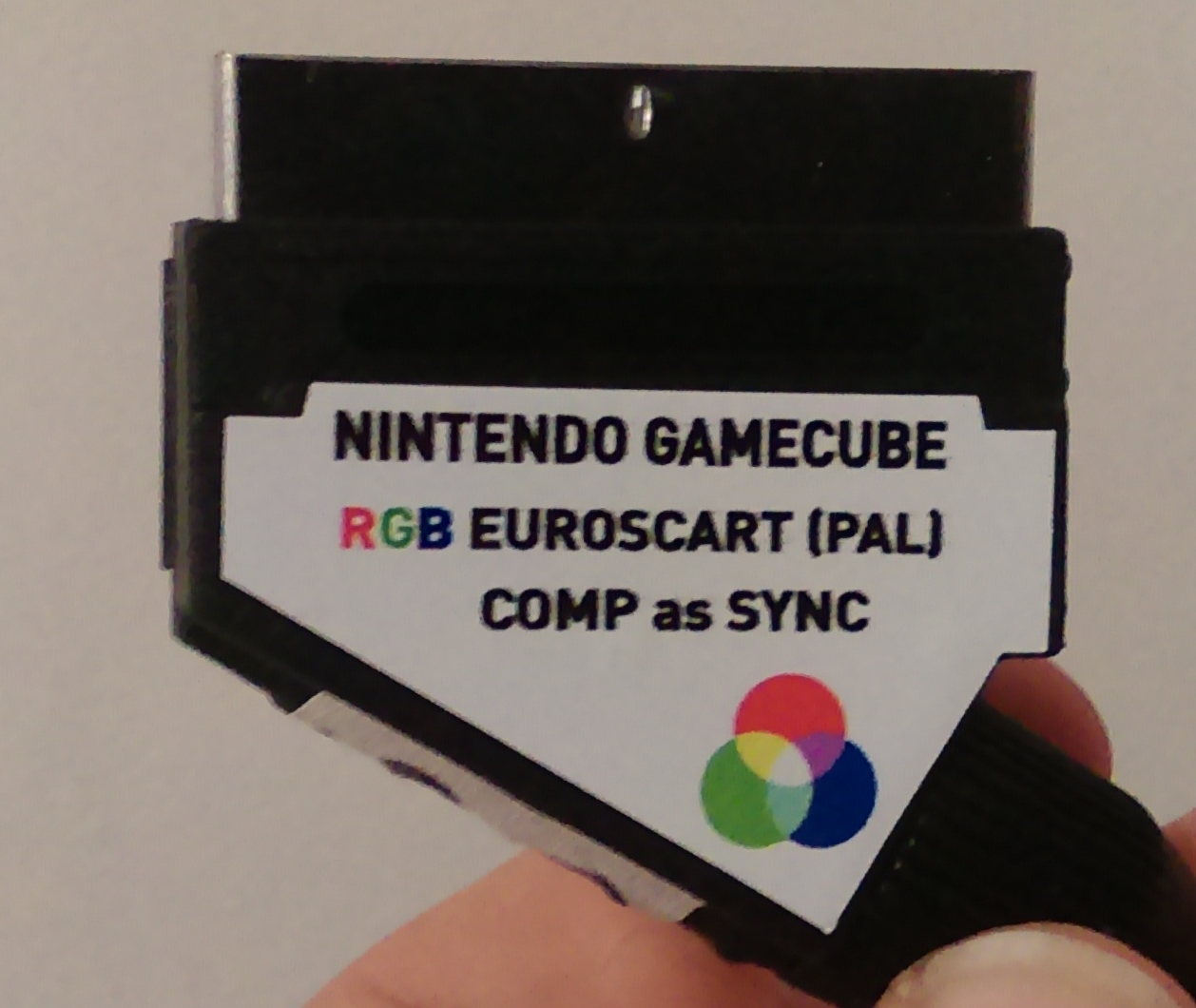 if you want to use a pal gamecube scart cable on a pal n64 then you [ 1258 x 1060 Pixel ]